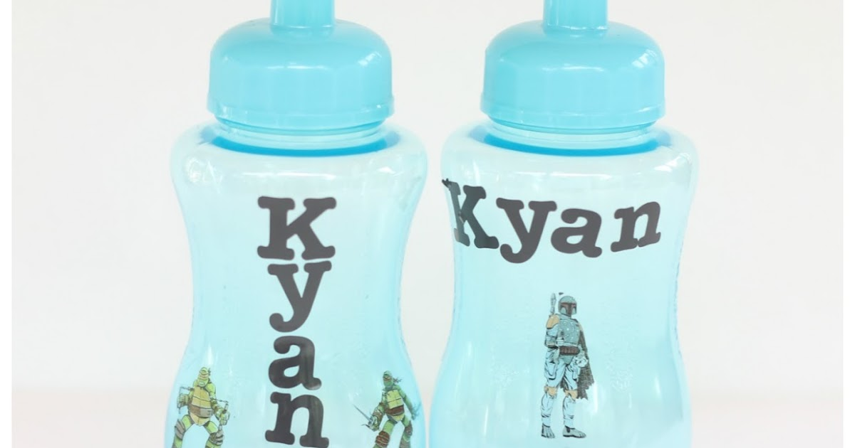 Fireflies And Jellybeans Easy Diy Personalized Water
