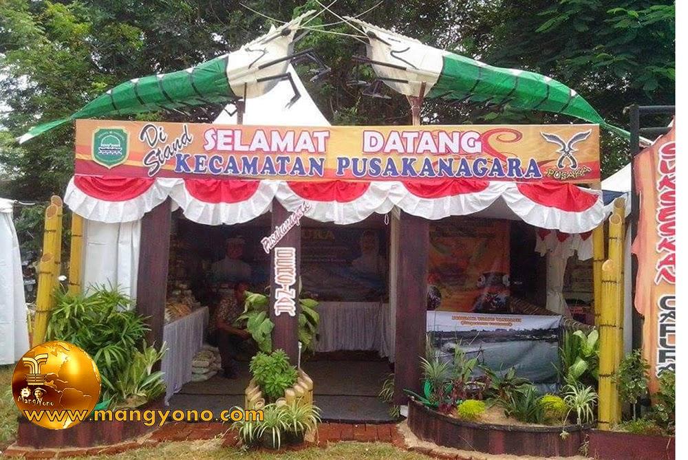 Stand Kec. Pusakanagara, Pameran Pembangunan 2015