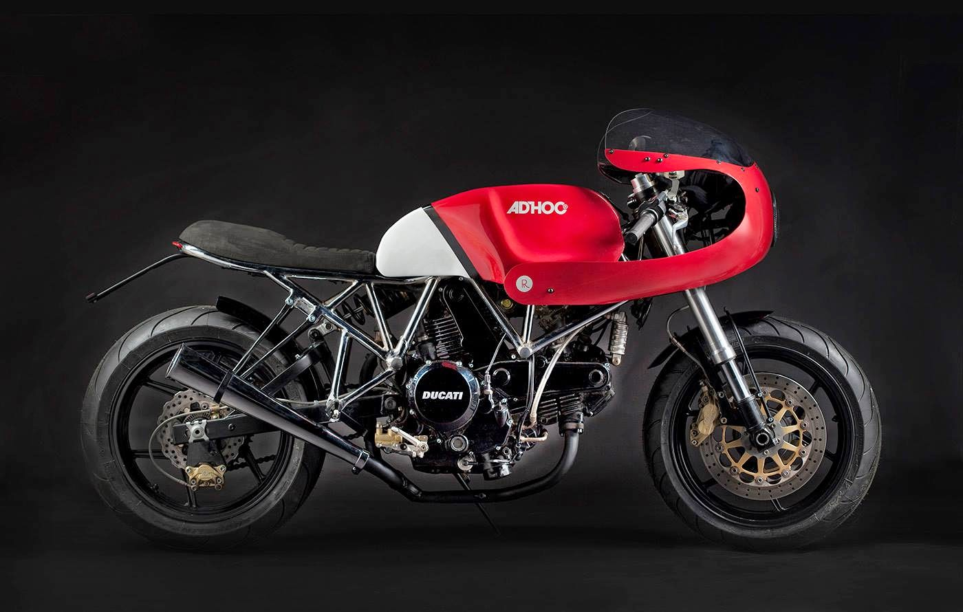 Racing Caf U00e8  Ducati 750 Ss 2004  U0026quot Adroca U0026quot  By Ad Hoc Caf U00e8 Racers