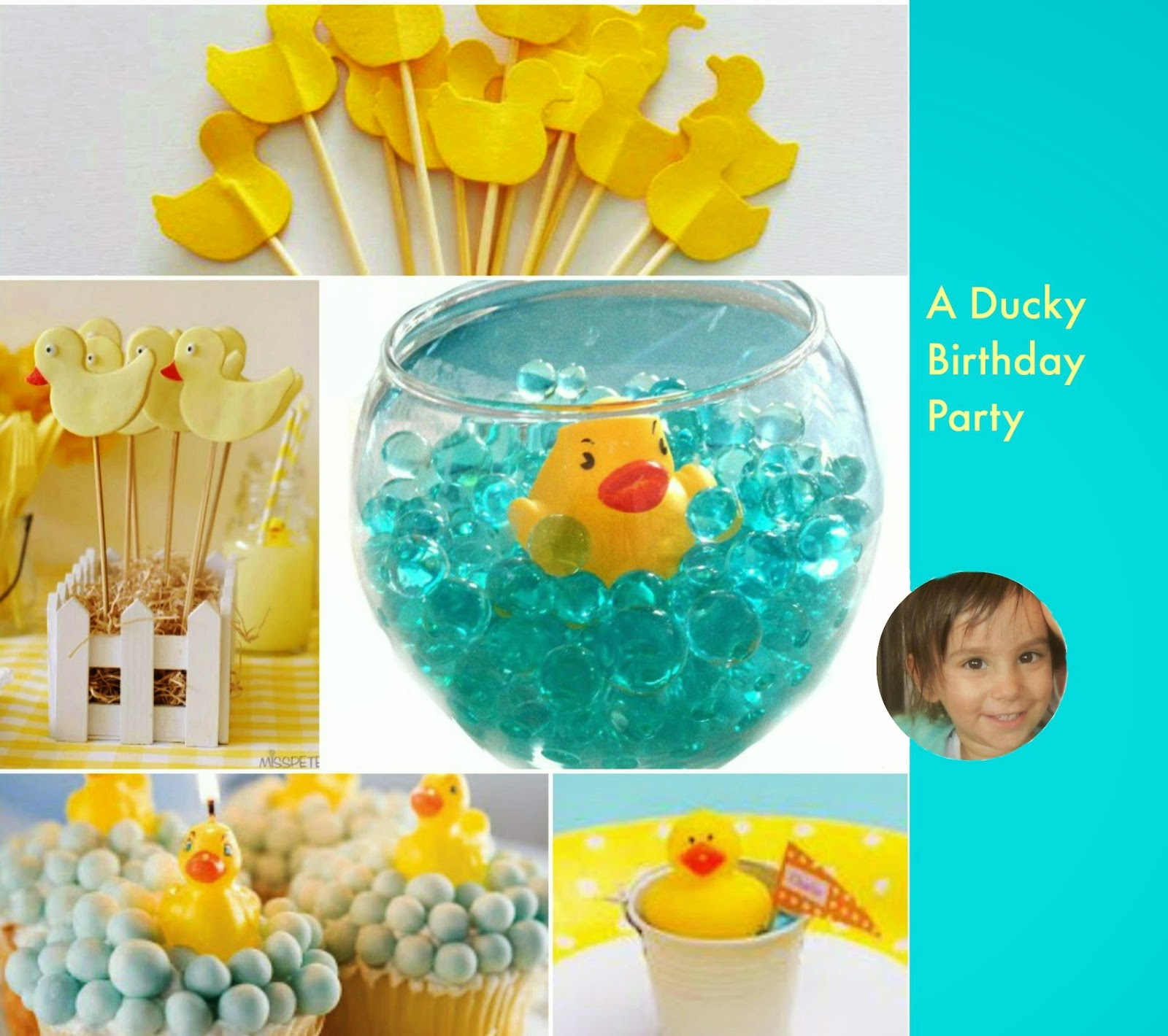 Design Megillah A Ducky Birthday Party