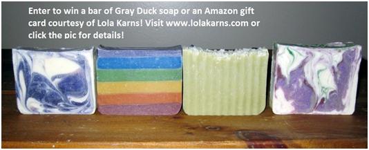 Gray Duck Soap