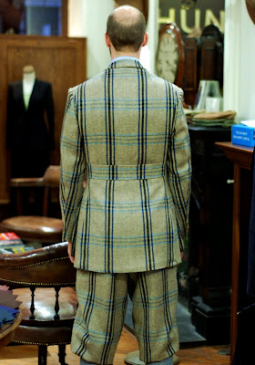 Huntsman tweed suit: Part 5