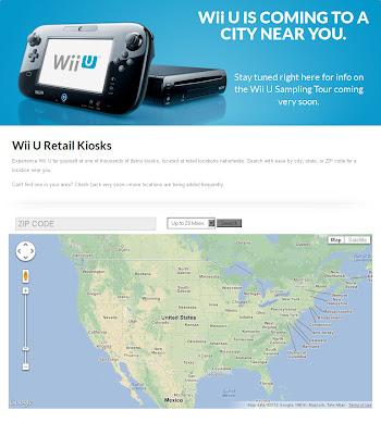 wii u demo stations locator Wii U Demo Stations Locator