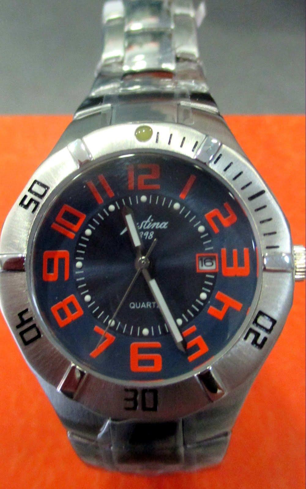 Reloj Justina señora-cadete