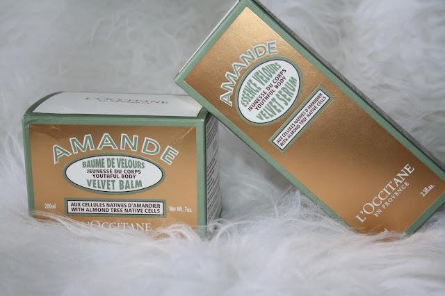 L'Occitane Almond Velvet Collection