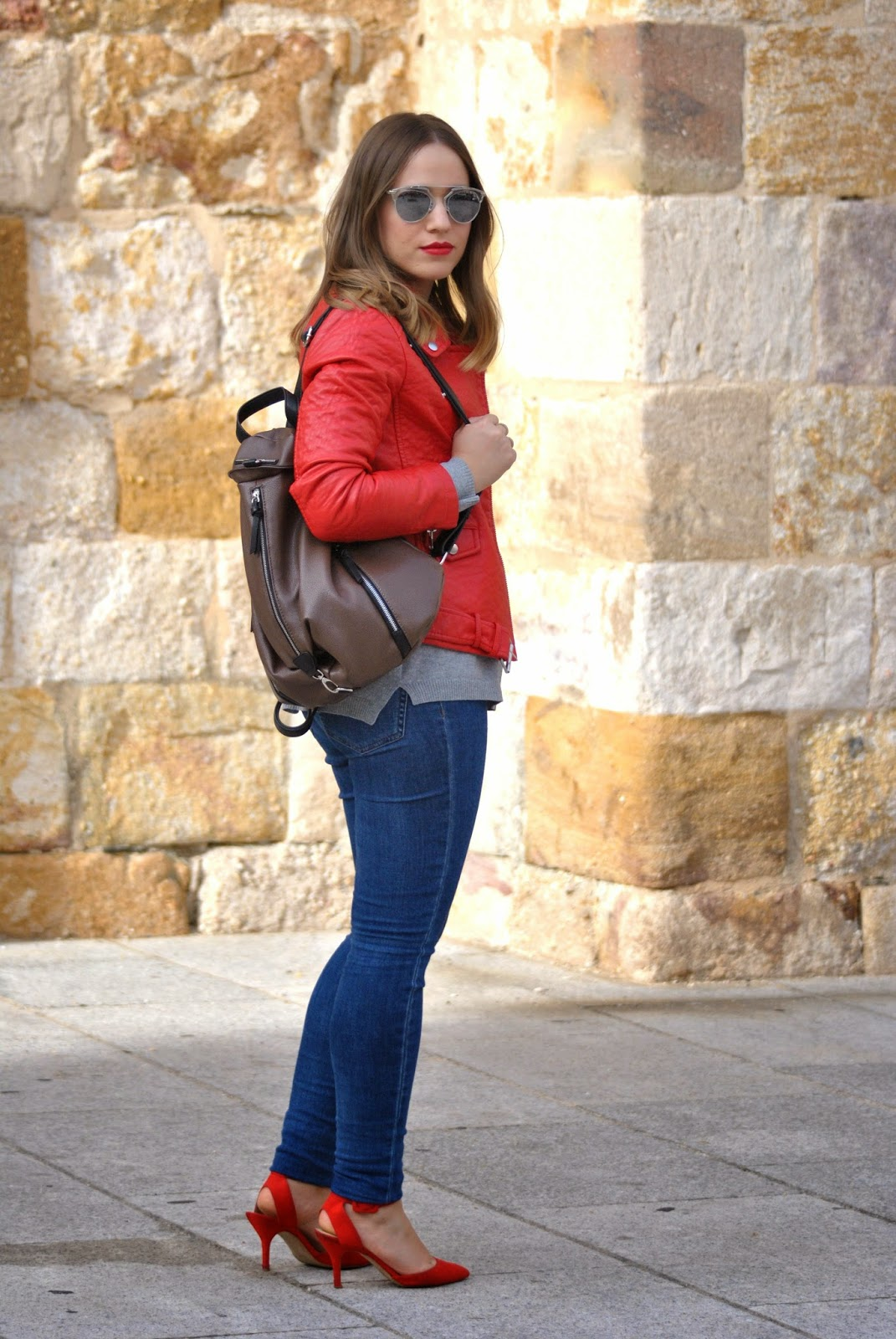 Red Jacket/ Red Lips