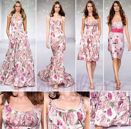 Yazl%C4%B1k c%C4%B1v%C4%B1l c%C4%B1v%C4%B1l %C3%A7i%C3%A7ekli bayan elbise modeli %C3%B6rne%C4%9Fi 2013 Çiçekli elbise modelleri