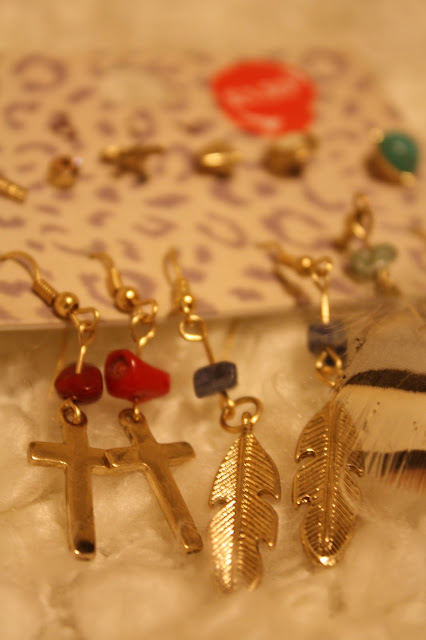 Miss Selfridge Gold Earring Selection