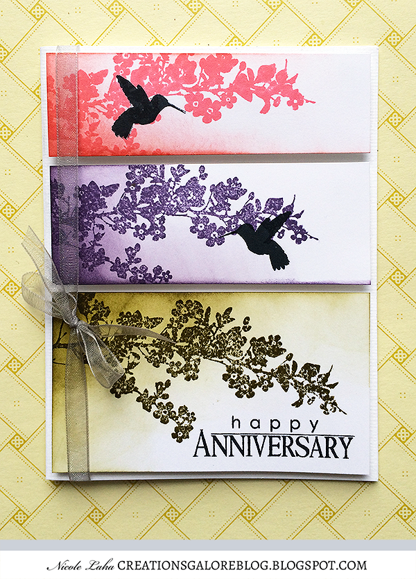 Penny Black - Happy Anniversary Card
