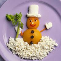 Suntanned Snowman Salad