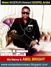 Meet Nigeria's Newest GOSPEL ARTIST::  His Name is ABEL BRIGHT: Download His Music For Fr