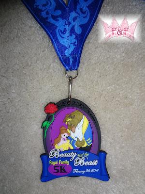 disney 5k medal