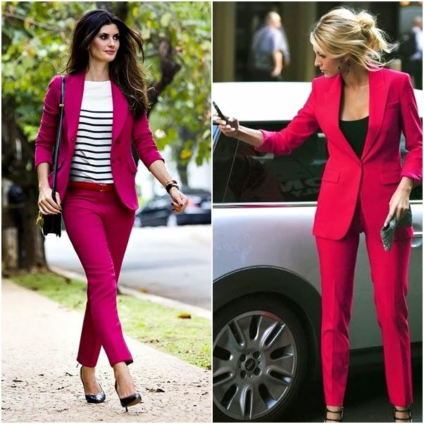 Looks com Blazer Dica Como Usar Colorido Rosa Chique Isabella Fiorentino Conjuntinho