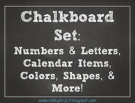 http://www.teacherspayteachers.com/Product/Chalkboard-Classroom-Combo-Pack-white-731668