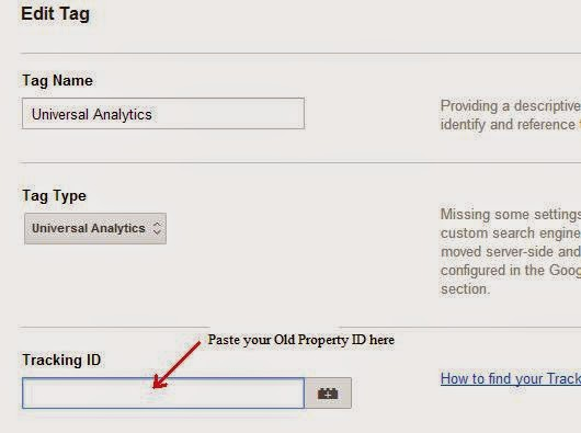Google Tag Manager Tracking ID Replacement