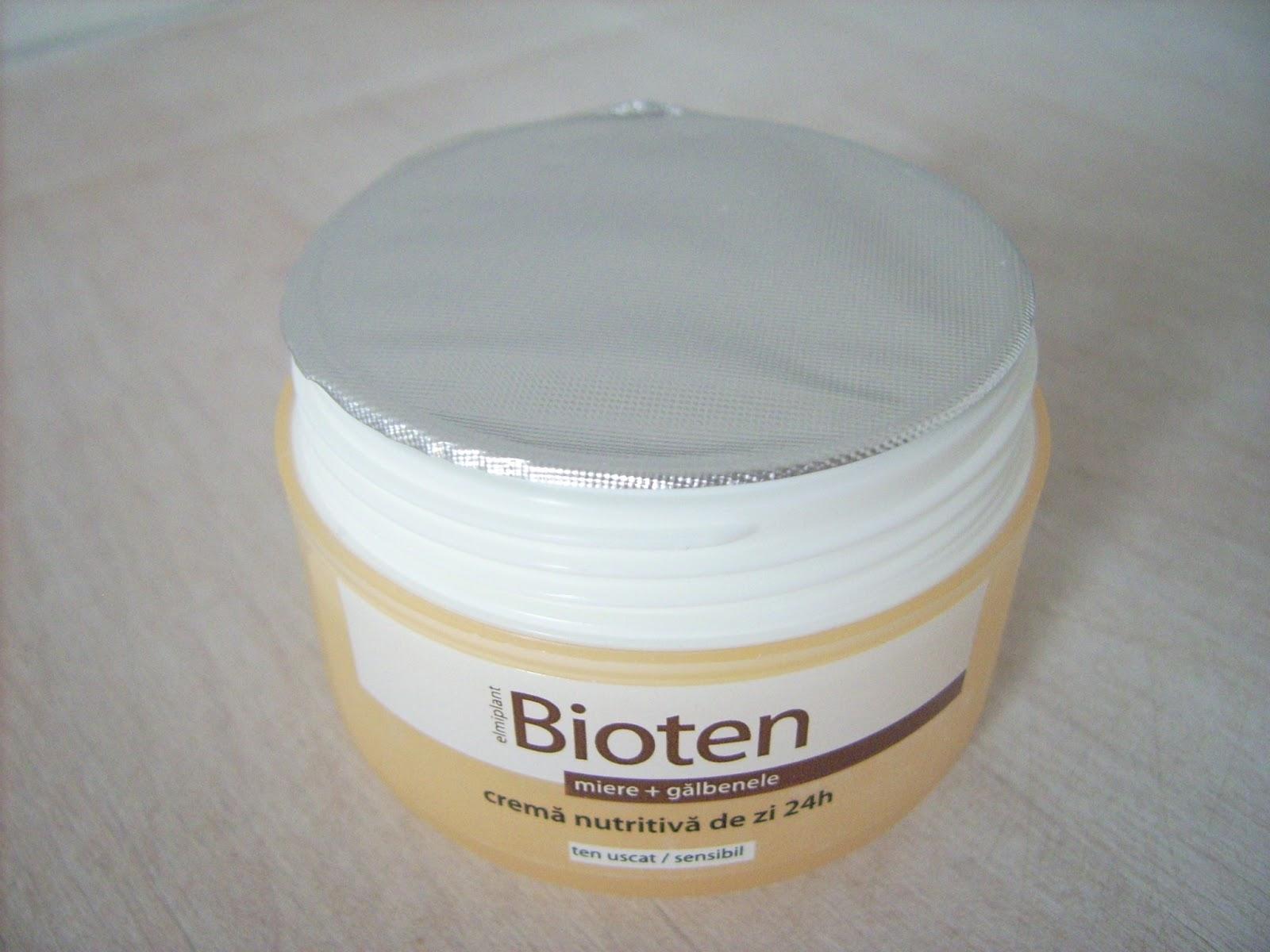 crema galbenele bioten
