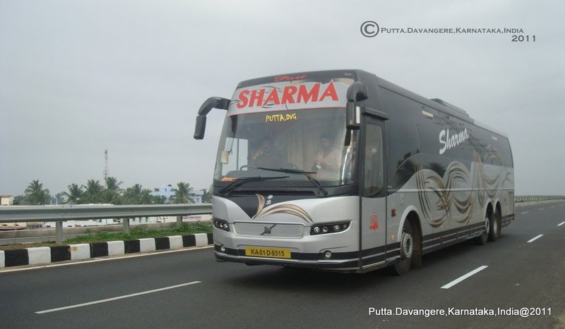 Indian Luxury Buses: Another Sharma Volvo B9R accident ...