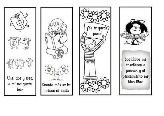 TodoManualidades » Separadores infantiles para imprimir