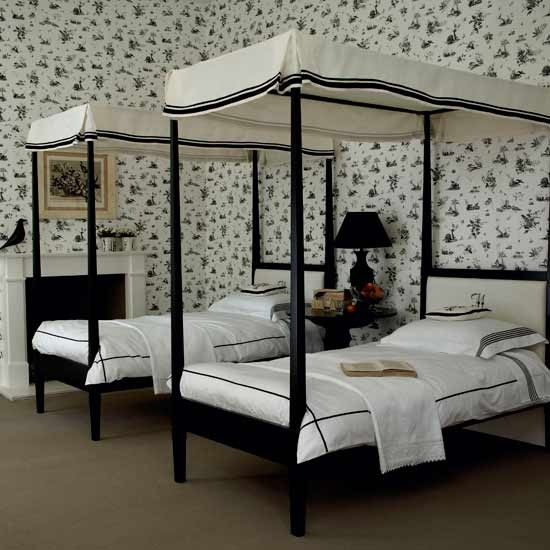 White Bedroom Ideas On Black And White Bedroom Decorating Ideas Room Dark B