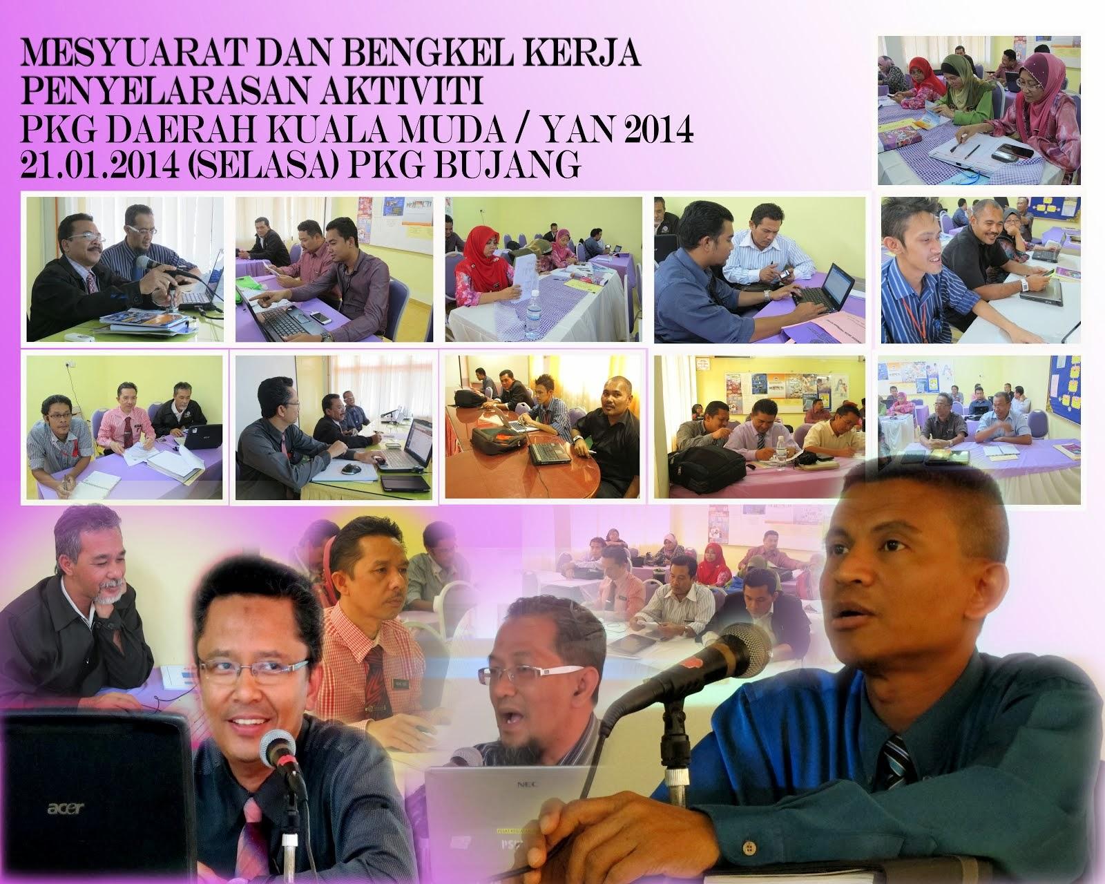 Mesyuarat & Bengkel SKT 2014 Daerah Kula Muda Yan