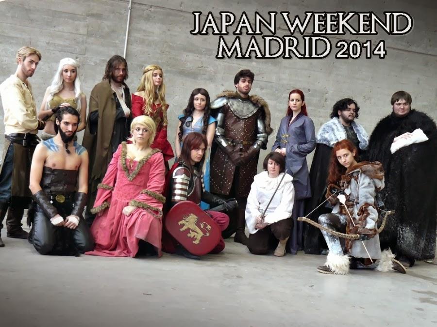 Japan Weekend 2014 Juego de Tronos - Juego de Tronos en los siete reinos