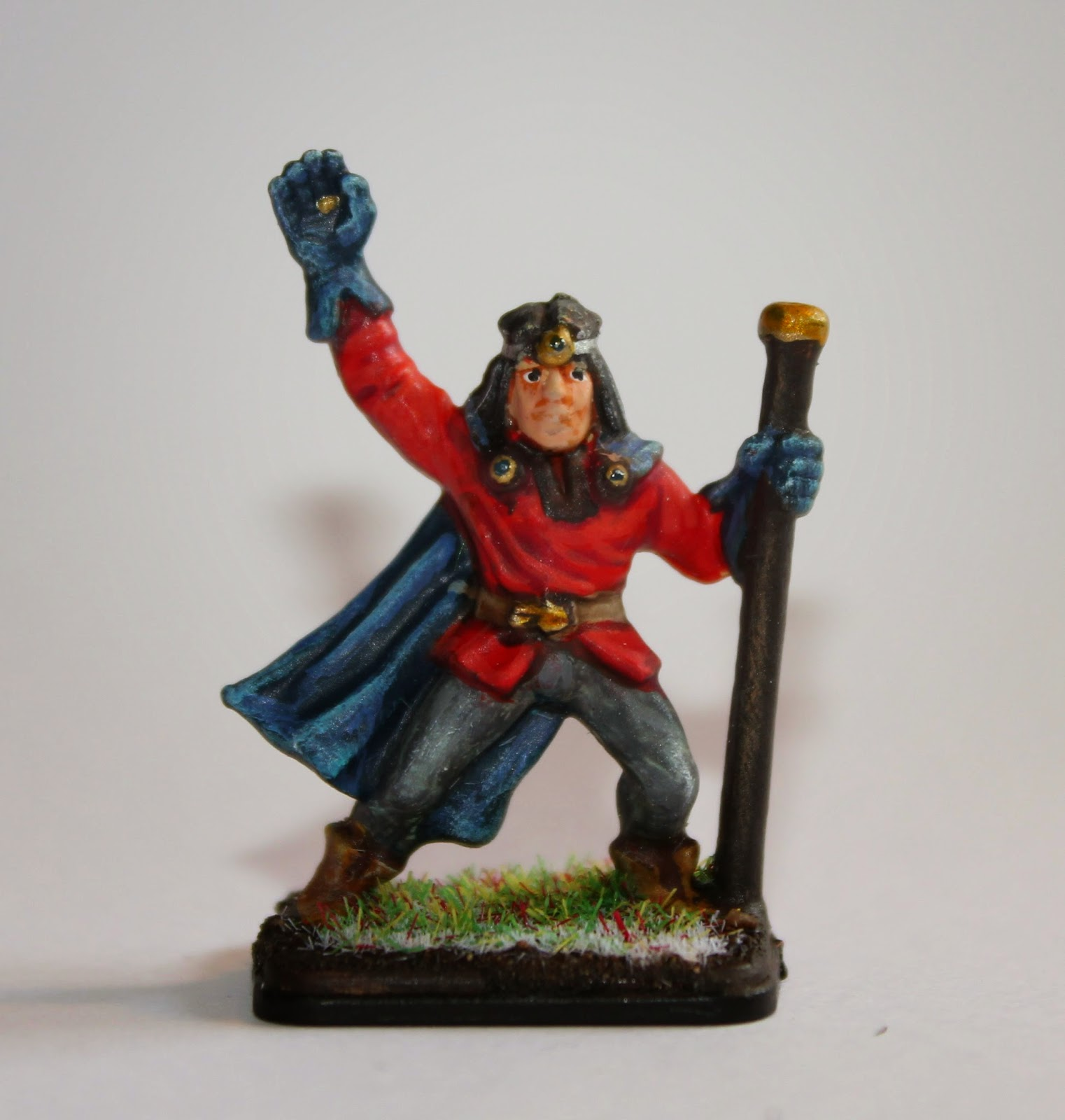 Painted Heroquest wizard