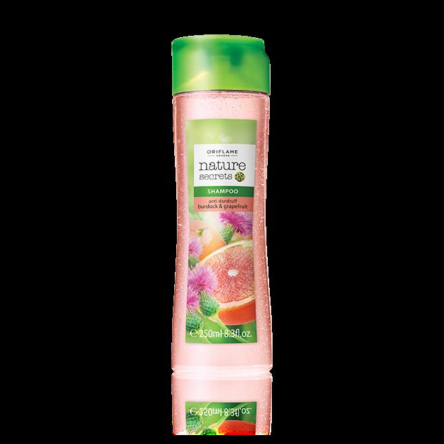 Шампунь против перхоти «Репейник и грейпфрут»