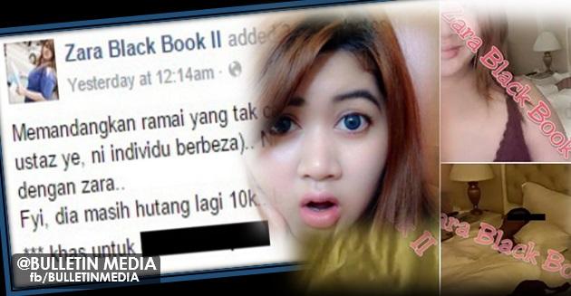 Makin Gila!!.. Berang Dituduh Menfitnah, Zara Tunjuk Bukti Gambar Dato' Enak Tidur Dengannya