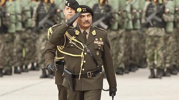 El general Ricardo Moncada es relevado como jefe del Ejército