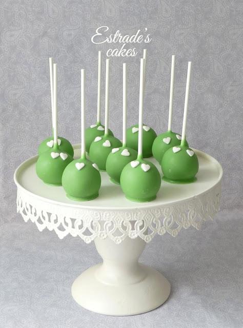 cake pops verdes de limón 1
