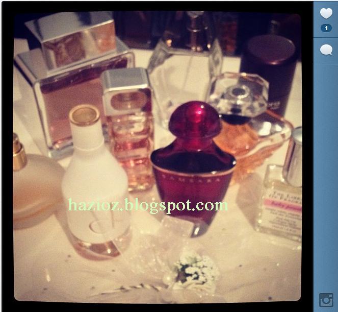 parfum koleksiyonum, parfumlerim
