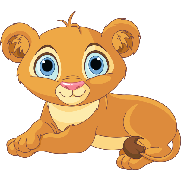 Lovely Lion Cub Icon