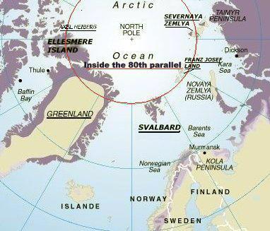 Ultima Thule The Legendary Latitude º N Six Locations On Land - Greenland latitude