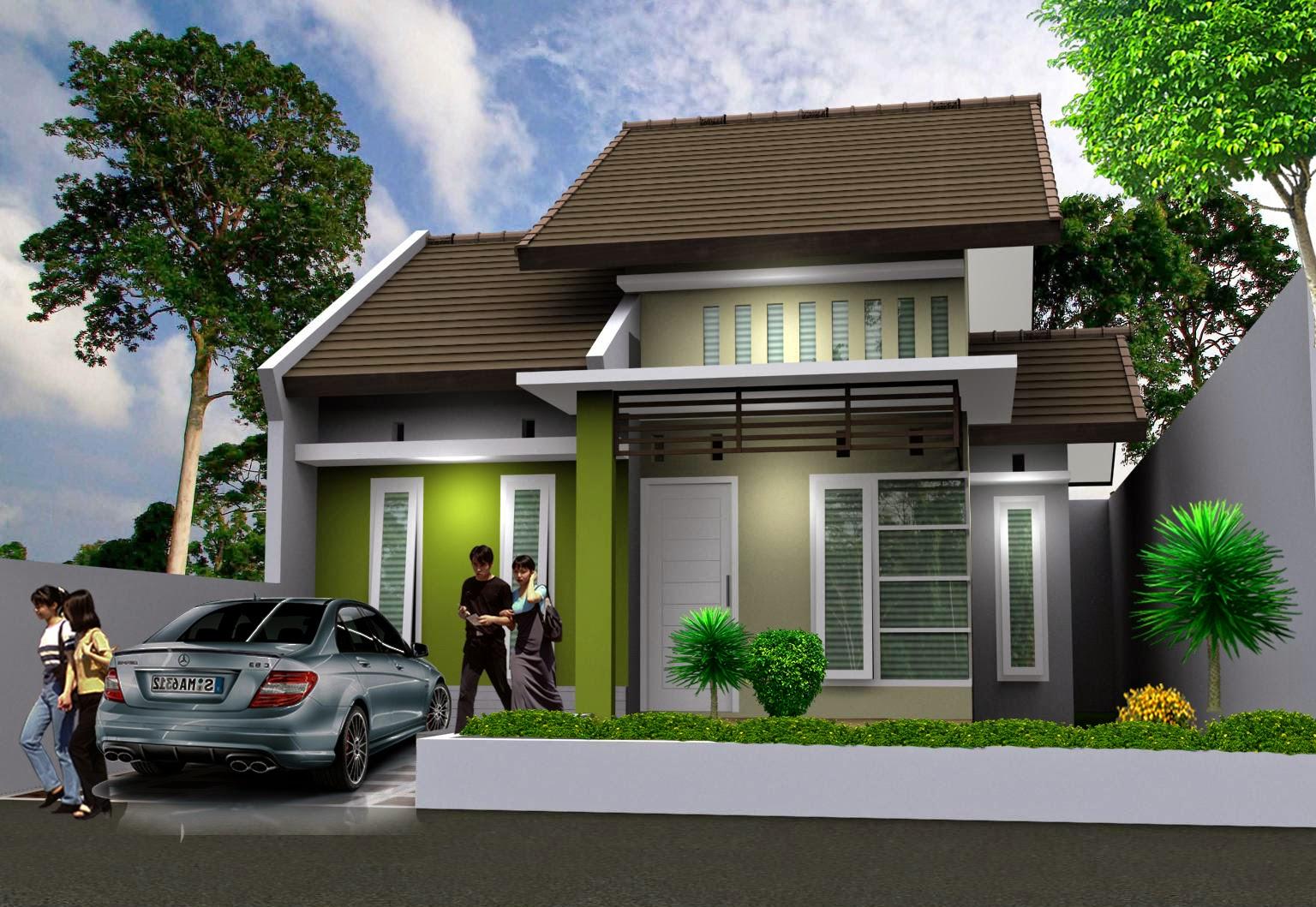Model Rumah Minimalis Type 45