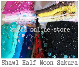 PROMO YES: Shawl Half Moon Sakura