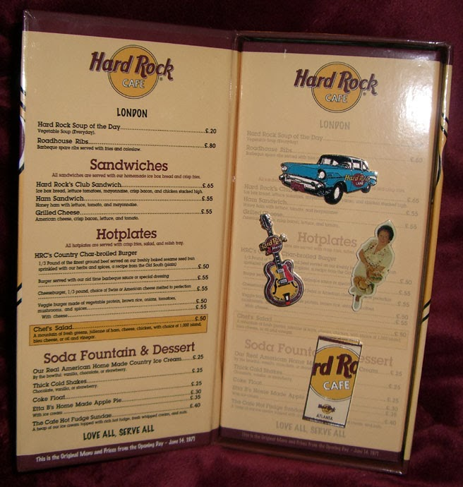 Hard Rock Cafe Menu Atlanta Ga