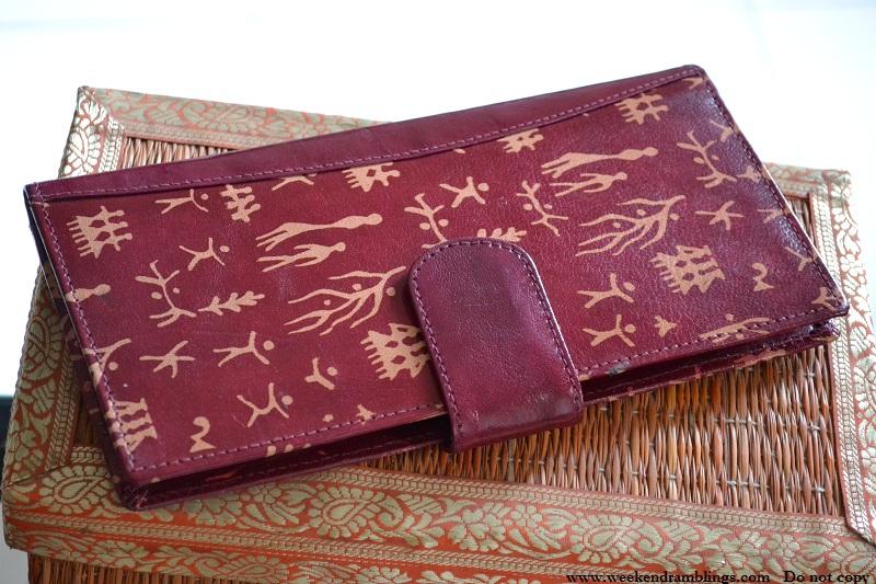 bangalore shopping shantiniketan leather jute cottage wallet
