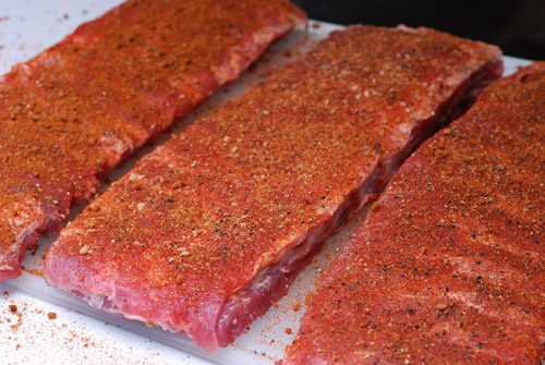 how to trim st louis spare ribs