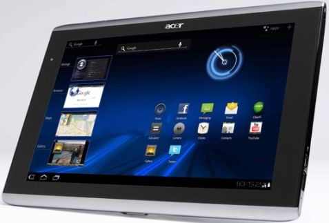 tablet acer iconia tab a500 diklaim telah dijajal dengan teknologi