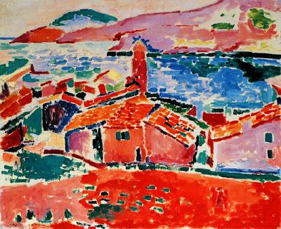 Henri Matisse - Les toits de Colliuore, 1905