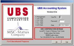 ubs accounting information system Sage ubs: accounting gst / sst sage ubs accounting is the first step to a computerised business with more than 135,000 installations in malaysia alone, we are now a household brand among small medium businesses (smbs.