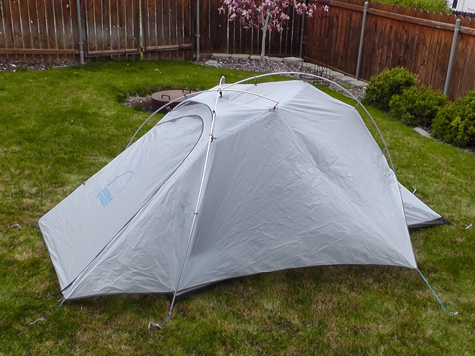 Sierra Designs Mojo 2 tent & Mexico to Canada. PCT 2014: The Gear