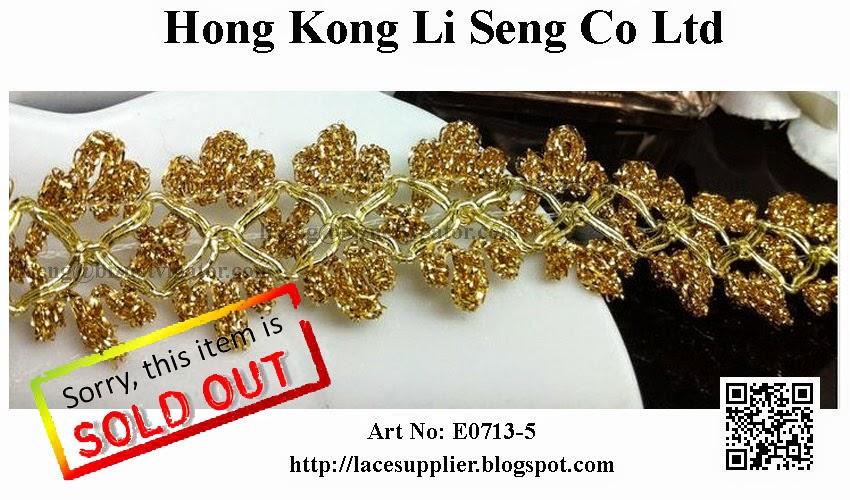 """Beading Trims Manufacturer Wholesaler Supplier -"""" Hong Kong Li Seng Co Ltd"""""""