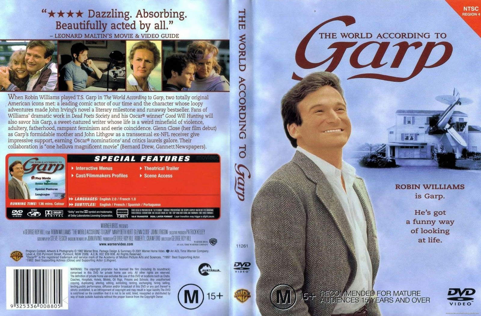 an analysis of the movie the world according to garp Serious adult docu about muppets in developing nations read common sense media's the world according to sesame street review, age rating, and parents guide.