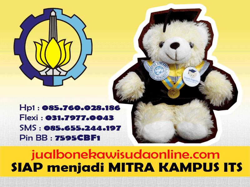 Boneka Wisuda ITS | Jual Boneka Wisuda Institut Teknologi Sepuluh Nopember