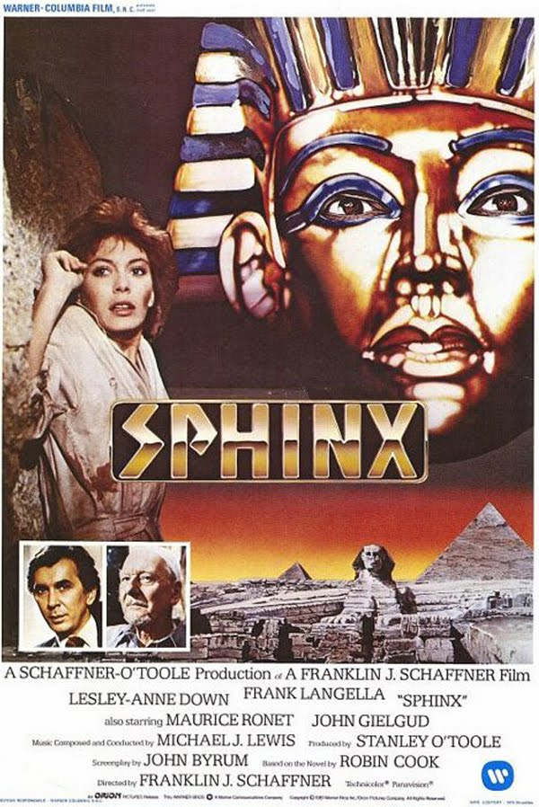 Novel by Robin Cook Sphinx 1981
