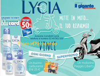Foto Vinci Carte Carburante Eni e 1 motorino Piaggio con Lycia