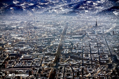 Красота города Турин Италия