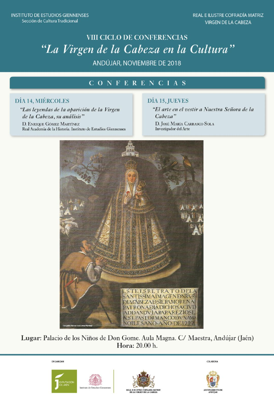 La Virgen de la Cabeza en la cultura