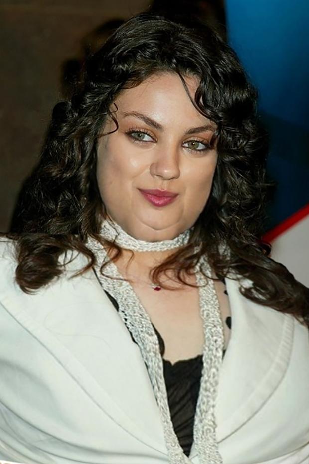 Se algumas celebridades fossem obesas...